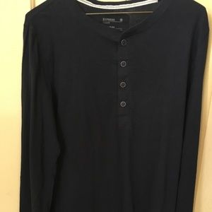 Long sleeve Henley from Express. Good condition.